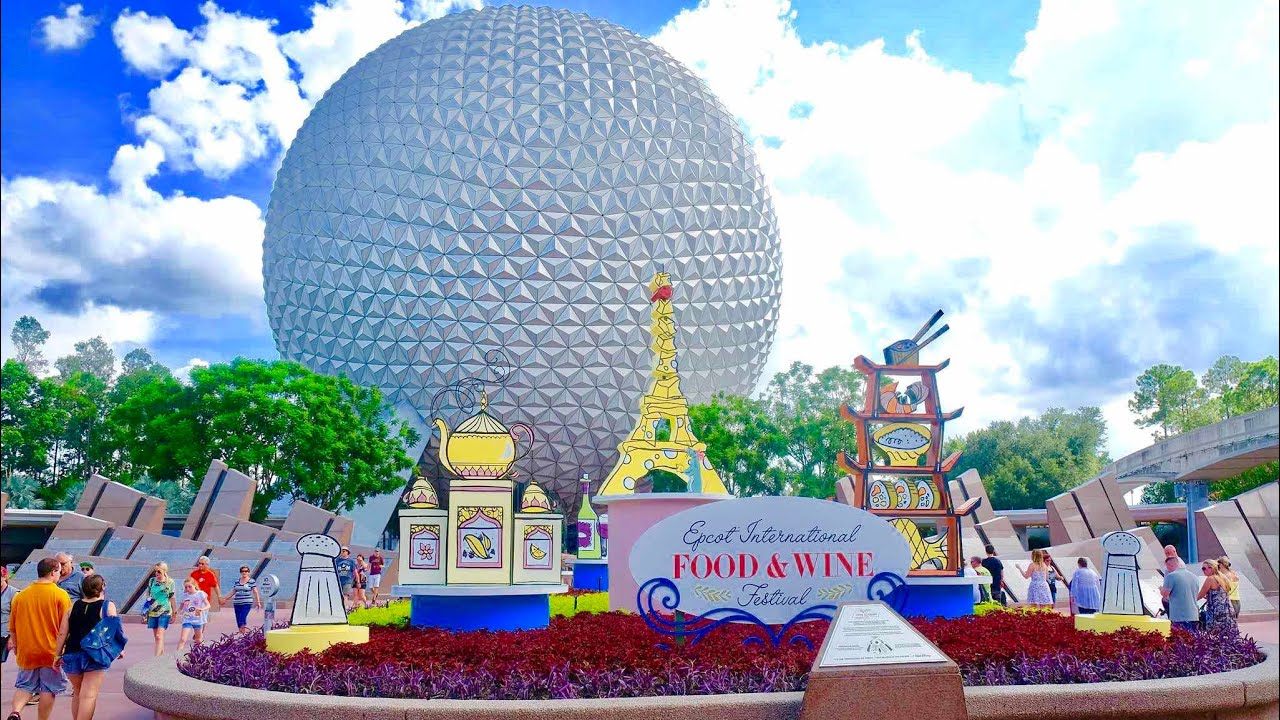 Inside The Epcot Food Wine Festival 2017 At Walt Disney World