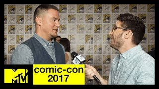 Channing Tatum Talks Marvel's 'Gambit' | Comic-Con 2017 | MTV