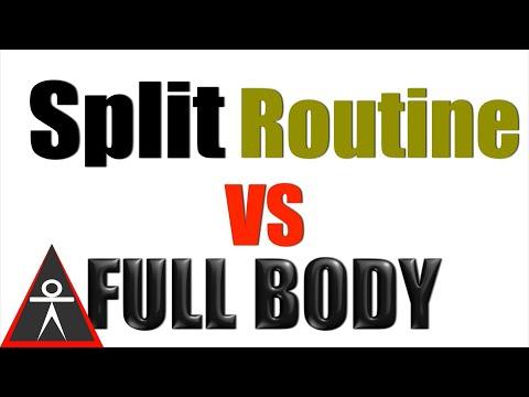 Is Split Training Much Better Than Full-Body Training