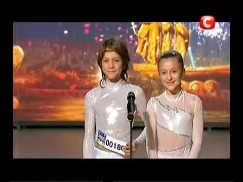 «Україна має талант-3» Львов - Катя и Женя (гимнасты)