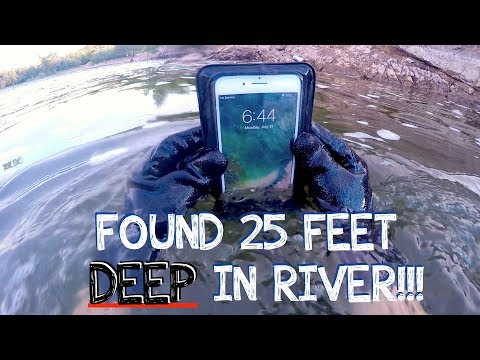 Thumbnail: River Treasure: I Found a Working iPhone 7 PLUS, GoPro, Keys, Money (iPhone Returned to Owner!!!)