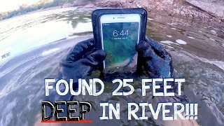 River Treasure: I Found a Working iPhone 7 PLUS, GoPro, Keys, Money (iPhone Returned to Owner!!!) thumbnail