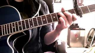 2ne1 - Come back home guitar cover + chords