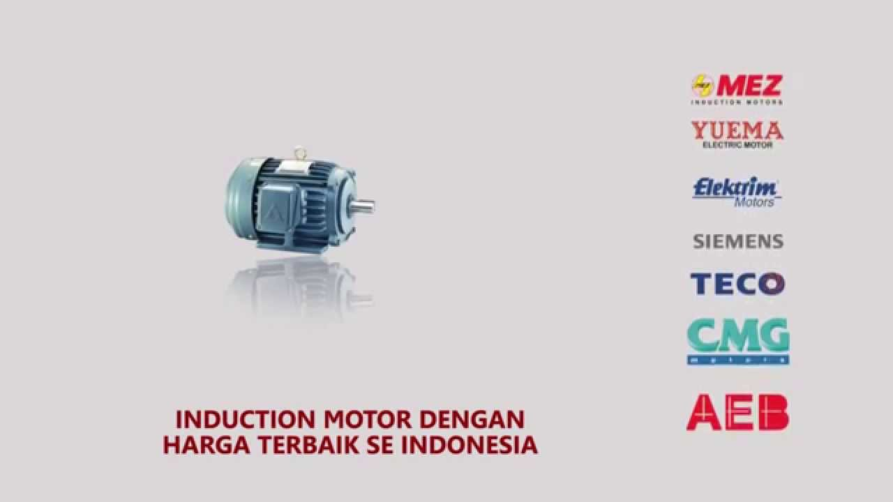 Induction Motor Elektrim | DALLA TEKNIK | Phone 62318186 - YouTube