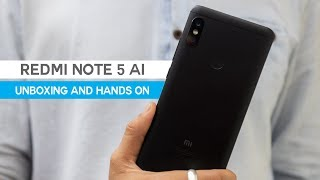 Xiaomi Redmi Note 5 AI: Unboxing and Hands on Review
