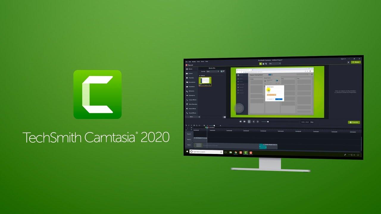 Camtasia Studio 2020 Free Download