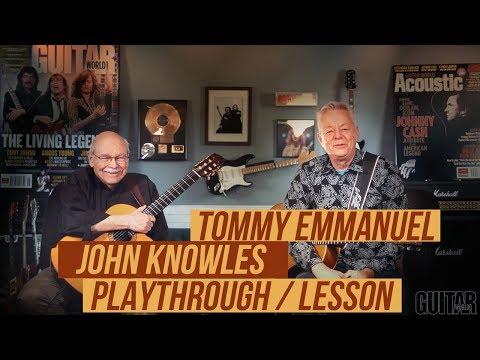 "Tommy Emmanuel & John Knowles - ""Somewhere"" Playthrough & Lesson Mp3"
