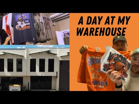 A Day At My Vintage Clothing Warehouse