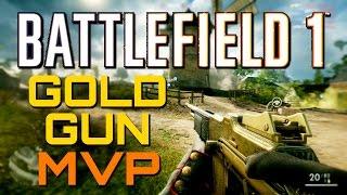 Battlefield 1: Gold Gun MVP - 58 Kills (PS4 Pro Multiplayer Gameplay)