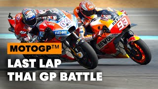 Thrilling Last-Lap Battles At The 2018 Thailand GP | MotoGP 2019