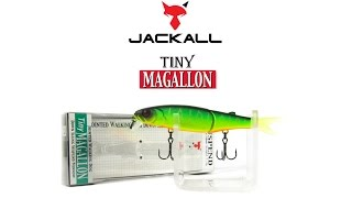 Воблер Jackall Tiny Magallon. Underwater Lure Action
