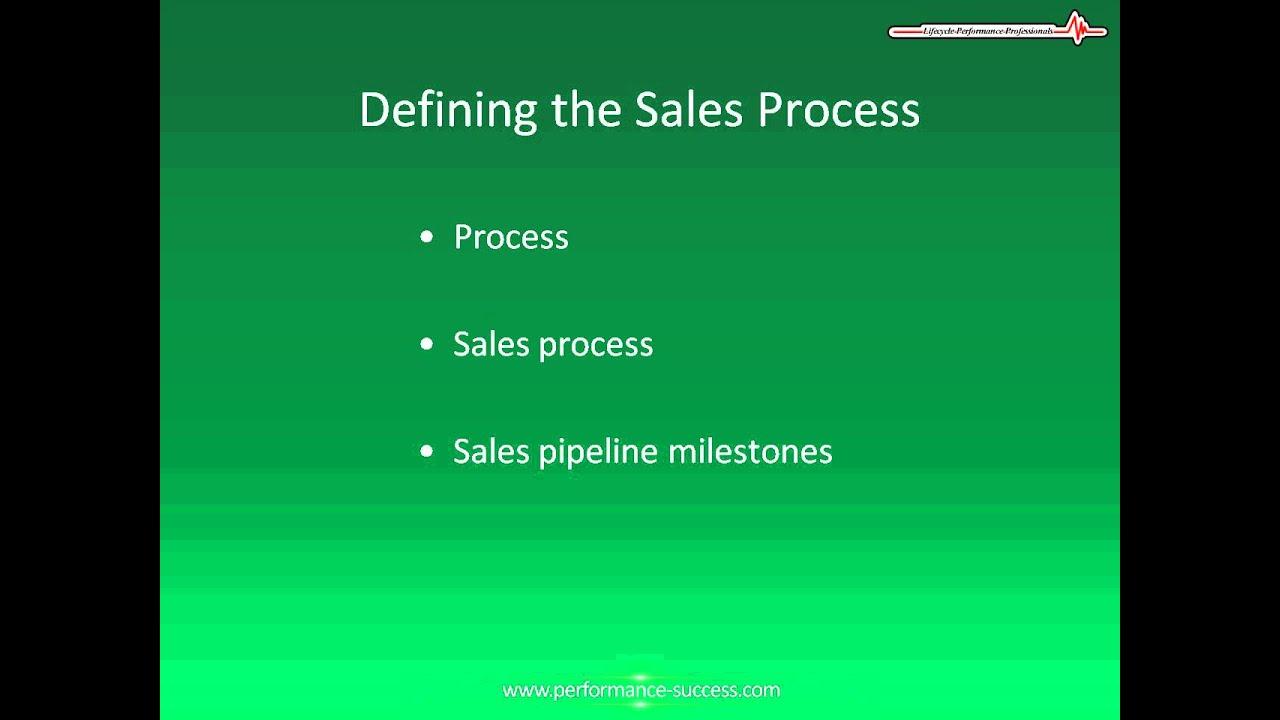 sales process flow chart