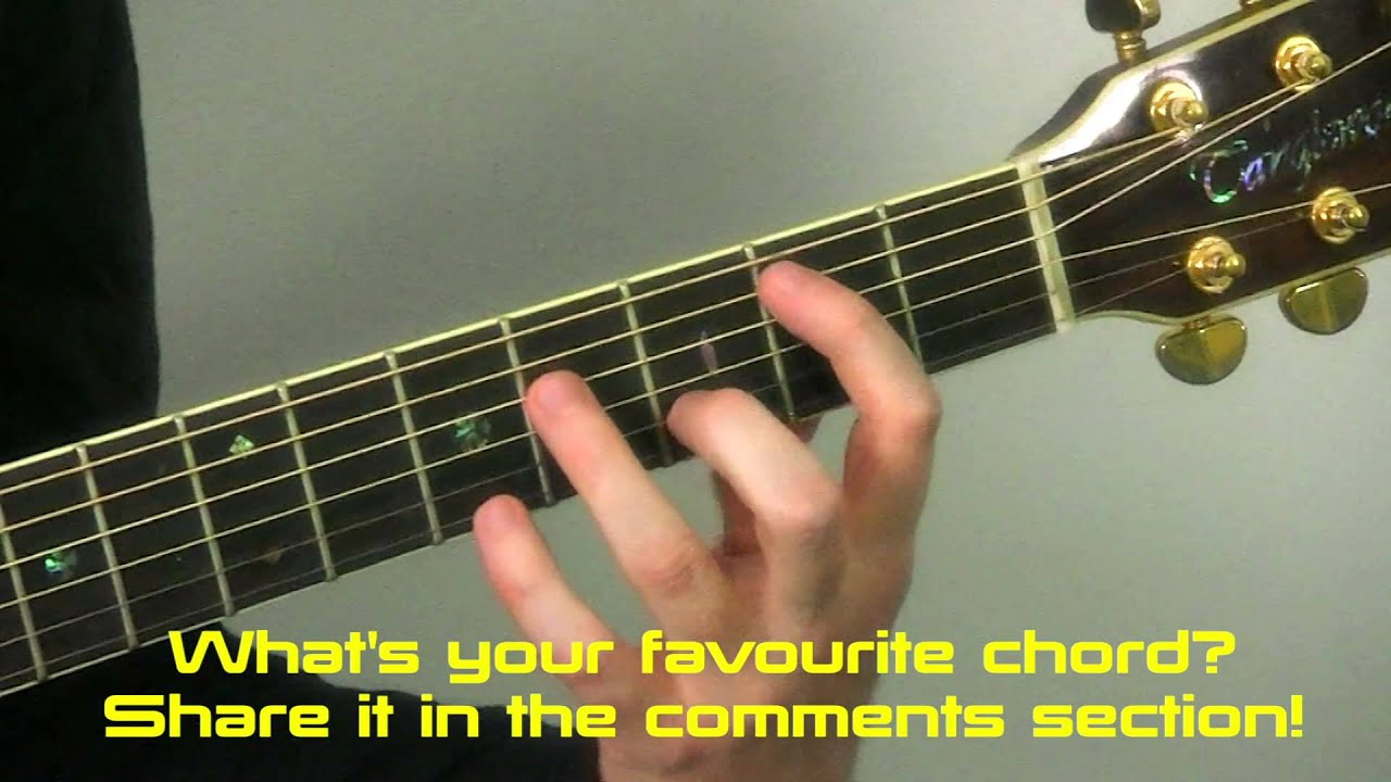 5 Amazing Guitar Chords You Must Learn Creating Your Own
