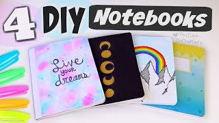 4 DIY NOTEBOOK IDEAS with SHARPIE Markers for Back-To-School - How To