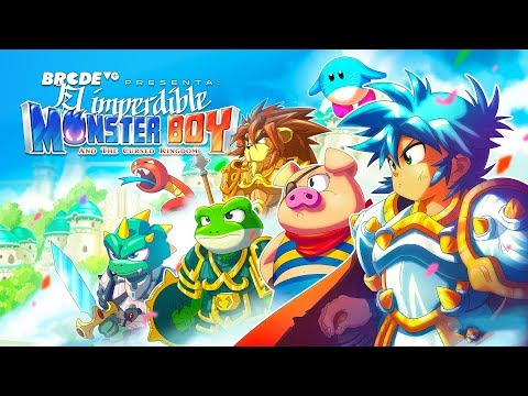 El imperdible MONSTER BOY and the Cursed Kingdom thumbnail