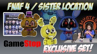 GAMESTOP Exclusive FNAF SISTER LOCATION | Five Nights at Freddy | Funko POP | Mystery Minis