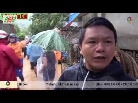 Lũ lớn ở Lào Cai, 11 người chết và mất tích
