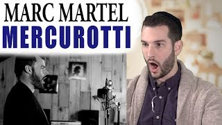 VOCAL COACH reacts to MARC MARTEL singing NESSUN DORMA by PAVAROTTI