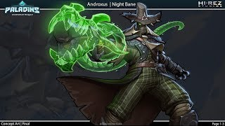 Paladins - Community Skin Contest - Night Bane Androxus