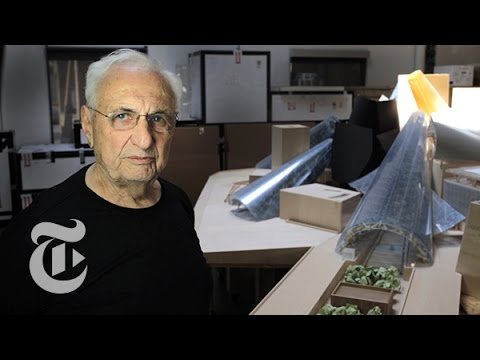 Frank Gehry on Cones, Domes and Messiness | The New York Times