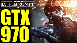 STAR WARS Battlefront II Campaign GTX 970 OC | 1080p Ultra Settings | FRAME-RATE TEST