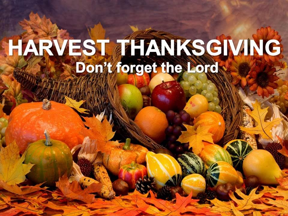Harvest Thanksgiving: Don't forget the Lord - 4 Oct 2015 - YouTube