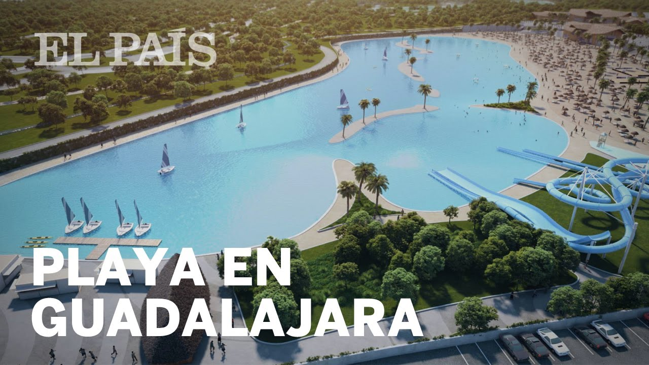 Planean crear la mayor playa artificial de europa en for Como hacer una laguna artificial