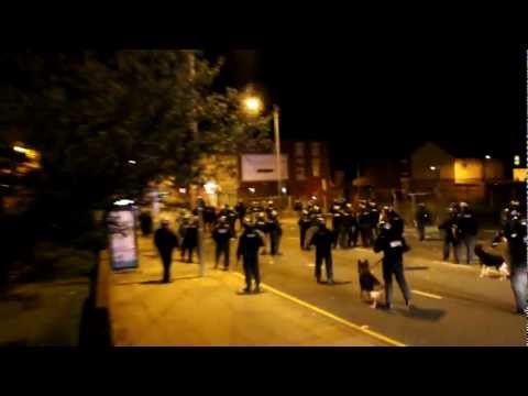 Battle of Smithdown road part 2 - Liverpool Riot Toxteth