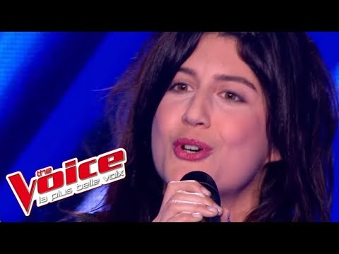 The Voice 2013 | Sarah Caillibot - Pull Marine (Isabelle Adjani) | Blind Audition