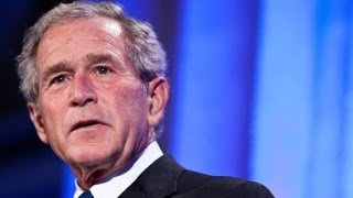 Geore W  Bush offers easy criticism of Trump