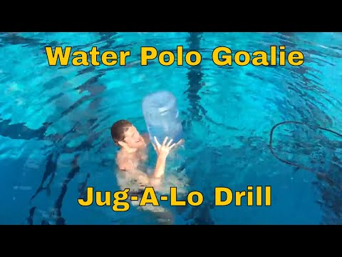Water Polo Goalie Jug-A-Lo Drill