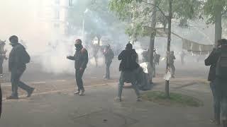 Manifestation du 1er mai : violents affrontements (1er mai 2019, Paris)