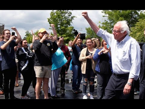 Bernie Sanders Takes The Healthcare Fight To Trump Country