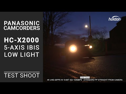 Panasonic HC-X2000 4K IBIS And Low Light Sample Footage | 10-Bit 422 Test Shots | AG-CX10 | HC-X1500