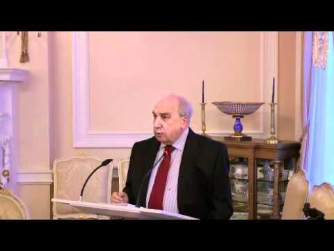 Alexander Chubarian at the Russian Embassy