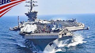超大型空母(スーパー・キャリアー)の艦載機カタパルト射出・着艦・高速航行映像 thumbnail