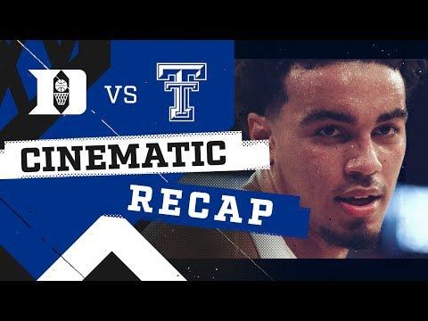 2018-19 Duke vs Texas Tech   Cinematic Recap