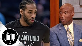 Bryon Scott comments on reported Kawhi Leonard-Spurs issues | The Jump | ESPN