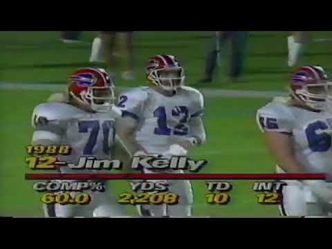 1988 - Week 11 - Buffalo Bills at Miami Dolphins
