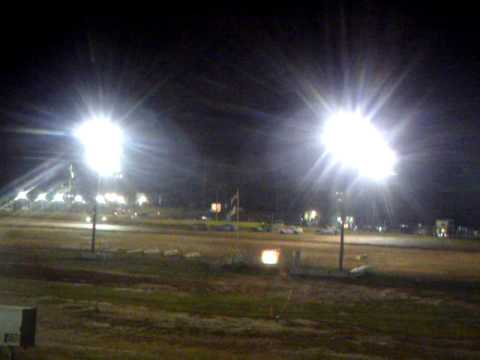 Tripp's First race in his new 21T car at Modoc Speedway 8.20.2011 002.AVI