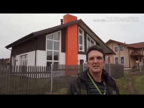 Дом шале с оранжевой трубой | 50км по Новой Риге | дом 132м | участок 11 соток