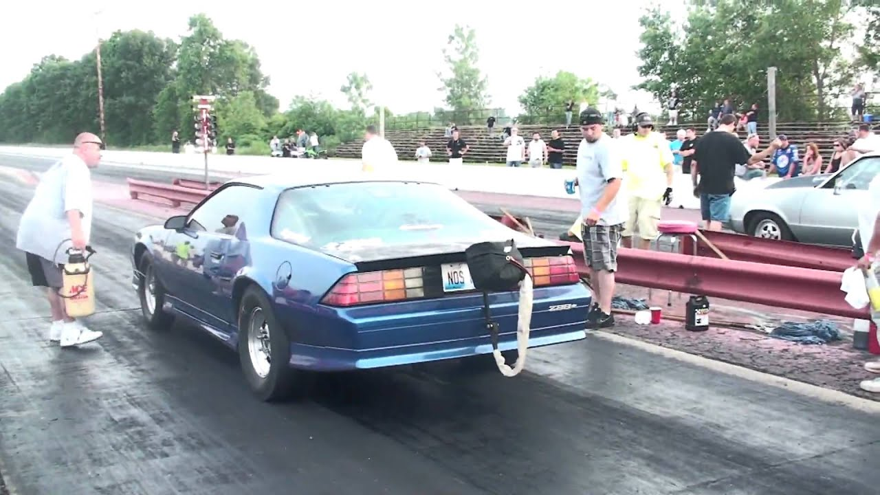 Dads 3rd Gen Camaro Putting It On The Bumper Youtube