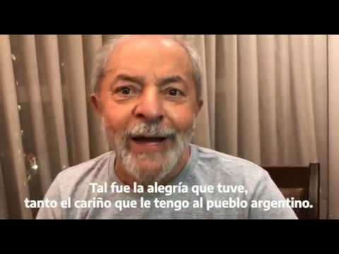 Lula da Silva al grupo de Puebla