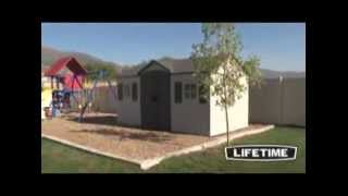 Lifetime 6446 For Sale 15-by-8 Foot Outdoor Storage Shed|lifetime 6446 Shed Sale
