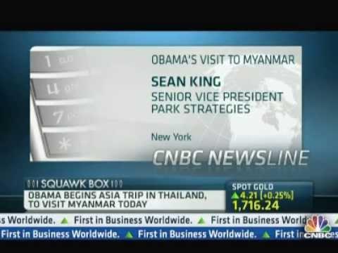 Sean King Park Strategies - Obama Trip to Myanmar 10.11.13