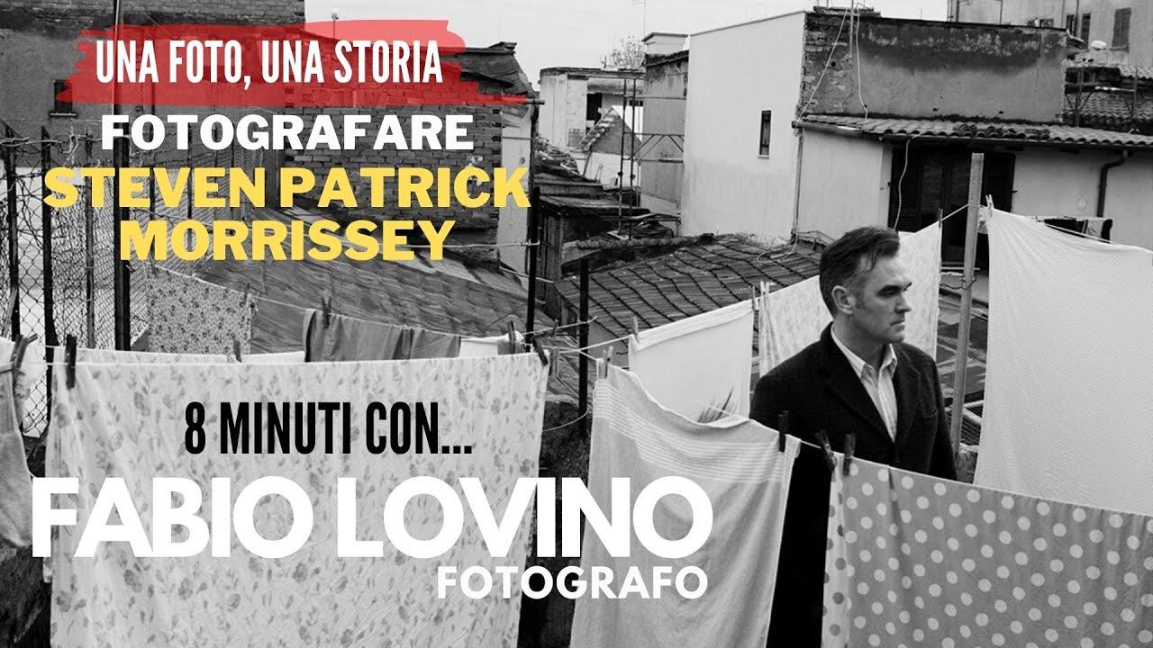 Fotografare MORRISSEY, 8 minuti con il fotografo FABIO LOVINO