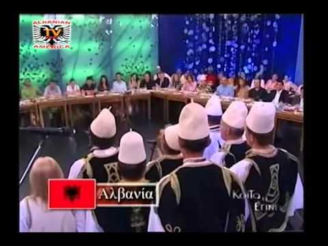 Albanian Song in Greek TV