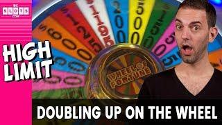 💕 Big Wheel Double Up 💰 High Limit @ Greektown Detroit ✪ BCSlots (S. 20 • Ep. 2)