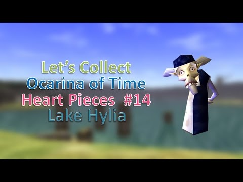 Let's Collect Ocarina Of Time Heart Pieces #14: Lake Hylia