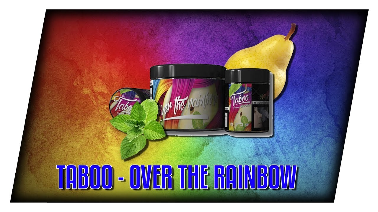 NEUER TABAK AUS SPANIEN!! 🇪🇸 Taboo Shisha - Over The Rainbow / Tabakreview